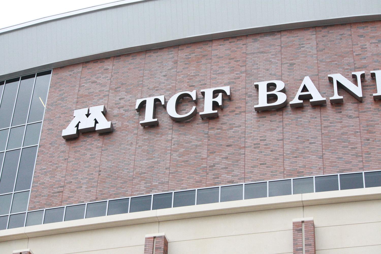 TCF Bank Stadium Signs | Serigraphics Sign Company